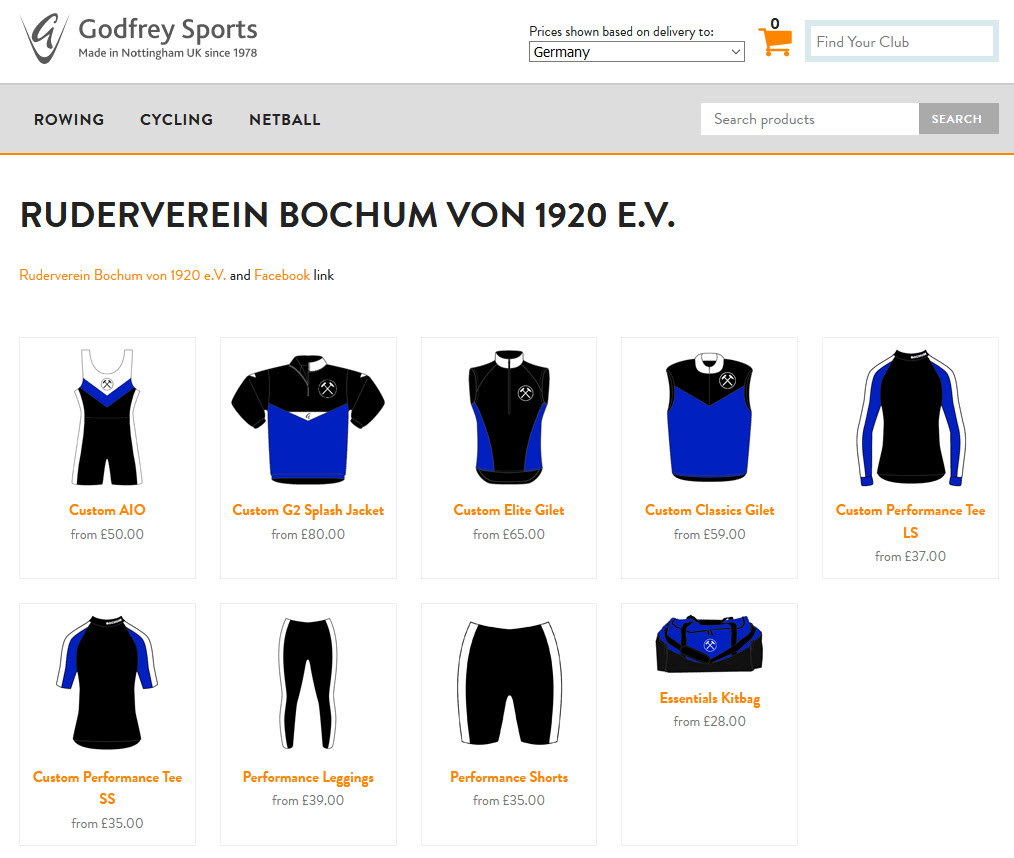 Godfrey Sports Ltd